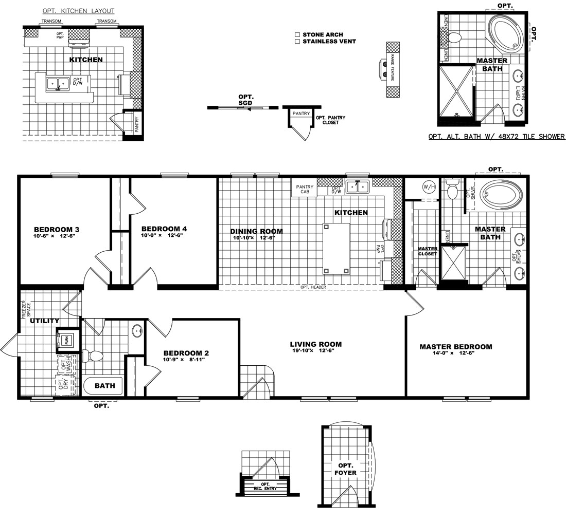 The THE DAYTONA 28 Floor Plan