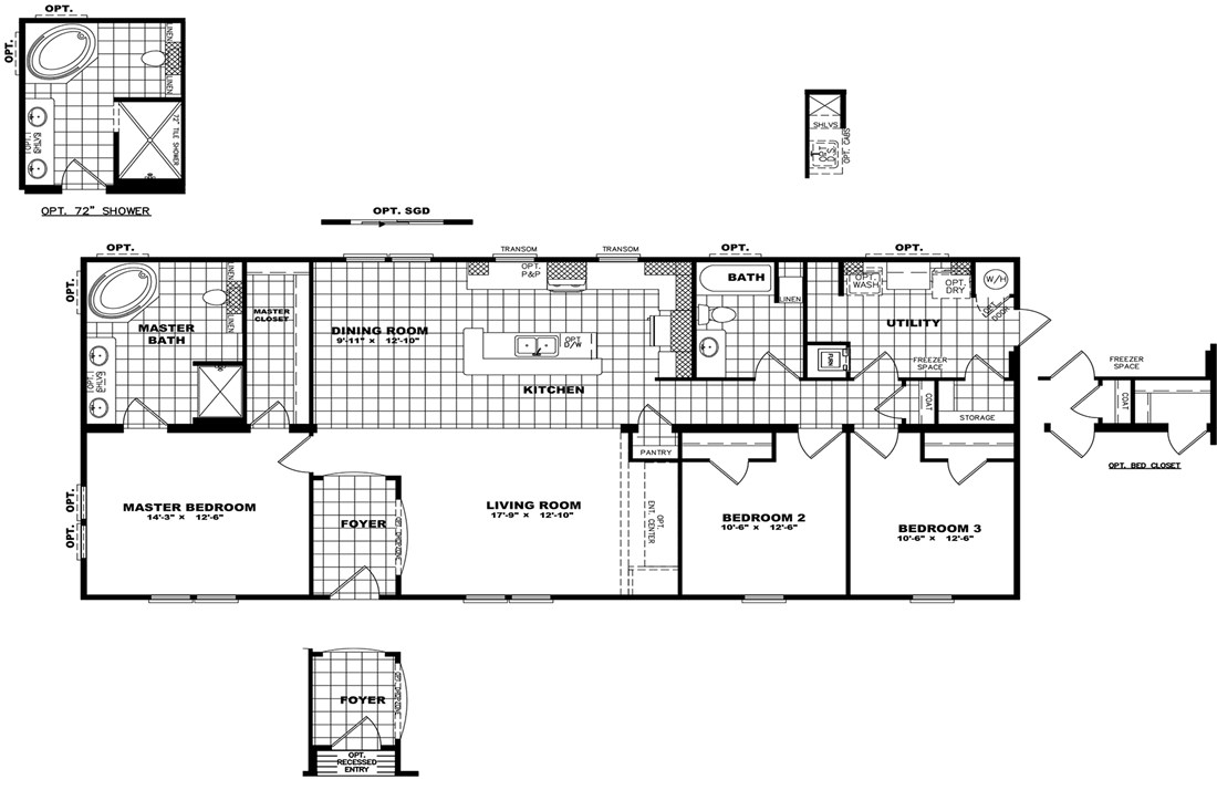 The THE PECOS 28 Floor Plan