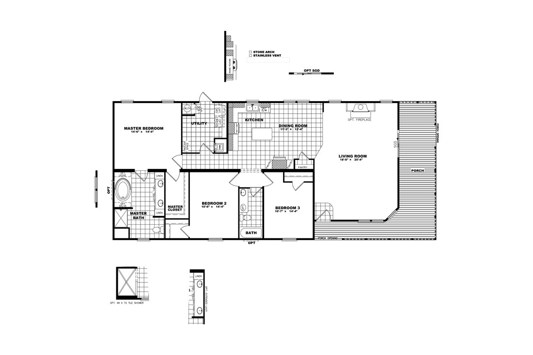 The THE STEWART 32 Floor Plan
