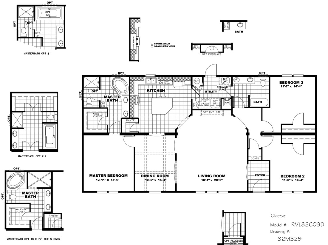 The THE CLASSIC Floor Plan