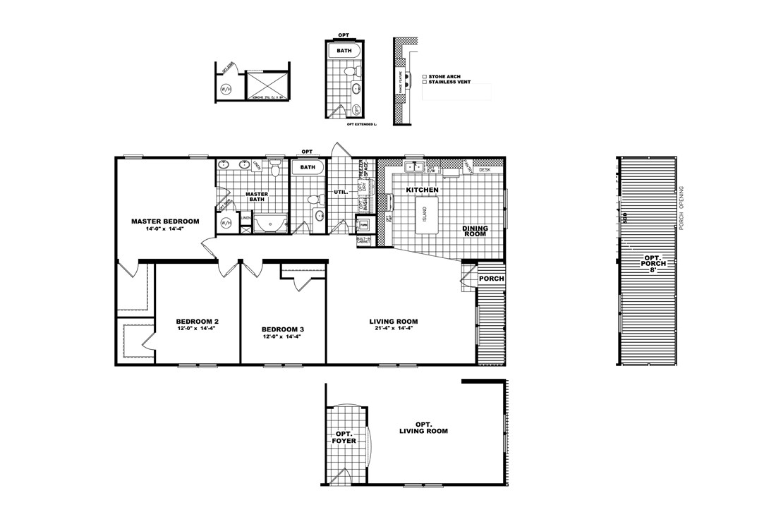 The THE NELSON 32 Floor Plan