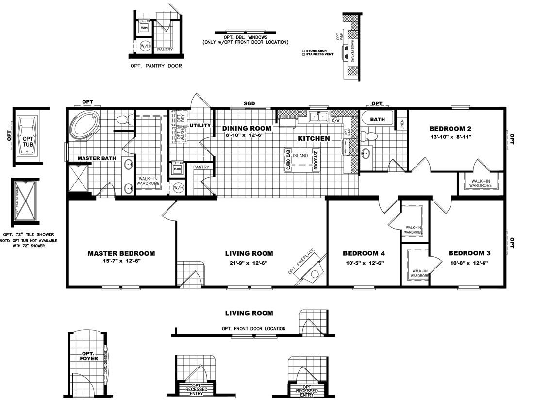 The THE FRANKLIN 28 Floor Plan