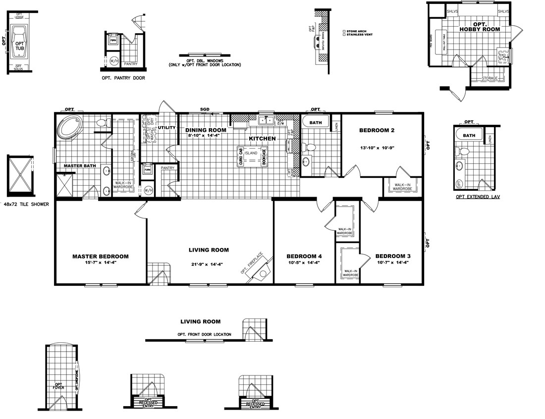 The THE FRANKLIN 32 Floor Plan