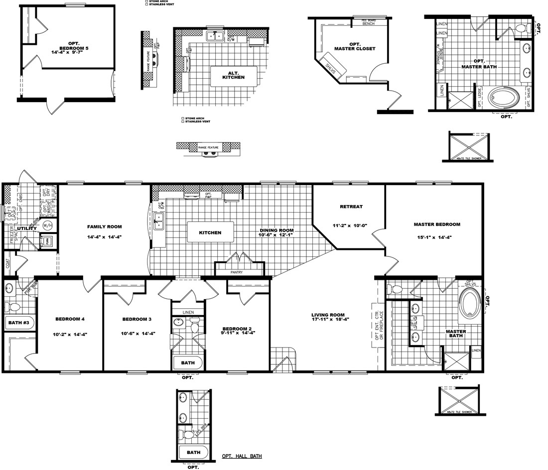 The THE YUKON Floor Plan