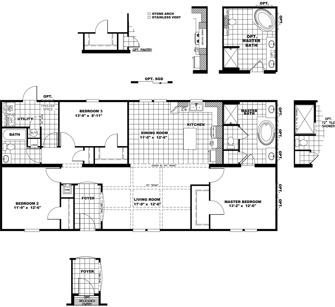 The THE STRETCH HOUSTON 28 Floor Plan