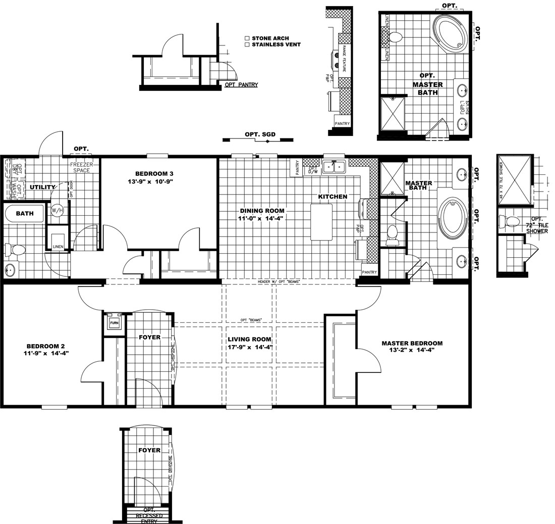 The THE STRETCH HOUSTON 32 Floor Plan